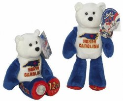 State Quarter Coin Bears North Carolina Limited Treasures 2001