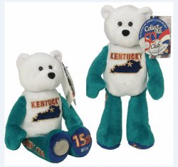State Quarter Coin Bears Kentucky Limited Treasures 2002