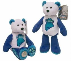 State Quarter Coin Bears Maine Limited Treasures 2003