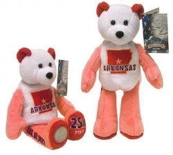 State Quarter Coin Bears Arkansas Limited Treasures 2003