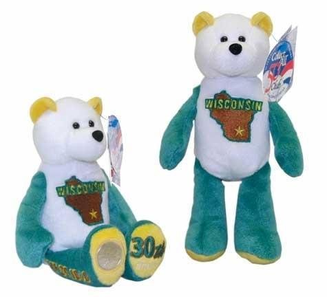 State Quarter Coin Bears Limited Treasures 2004 retired