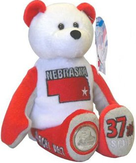 State Quarter Coin Bears Limited Treasures 2006 retired