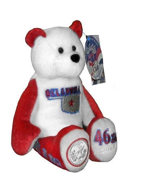 State Quarter Coin Bears Limited Treasures 2008 retired