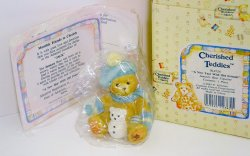Cherished Teddies Jack January No. 914754 Retired 1993