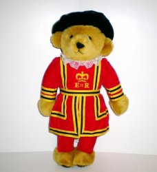 Merrythought Bear Beefeater Royal Guard Teddy Bear 1992