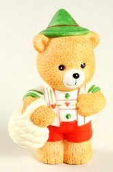 Bronson Bears of Distinction Figurine Hans Yodels by Katharine Stevenson