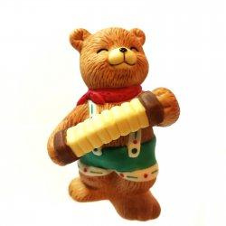 Bronson Bears of Distinction Figurine Musical Mel by Katharine Stevenson