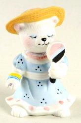 Bronson Bears of Distinction Figurine Sassy Sue by Katharine Stevenson 1989