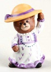 Bronson Bears of Distinction Figurine Merry Matilda by Katharine Stevenson, 1987