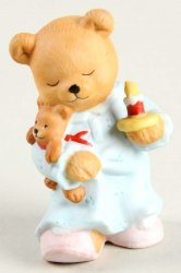 Bronson Bears of Distinction Figurine Sleepy Sally by Katharine Stevenson