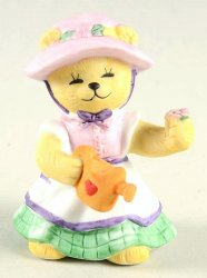 Bronson Bears of Distinction figurine Springtime Tammy Katharine Stevenson 1991