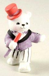 Bronson Bears of Distinction figurine Top Hat Tim by Katharine Stevenson
