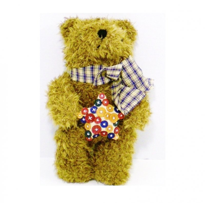 chenille plush bear