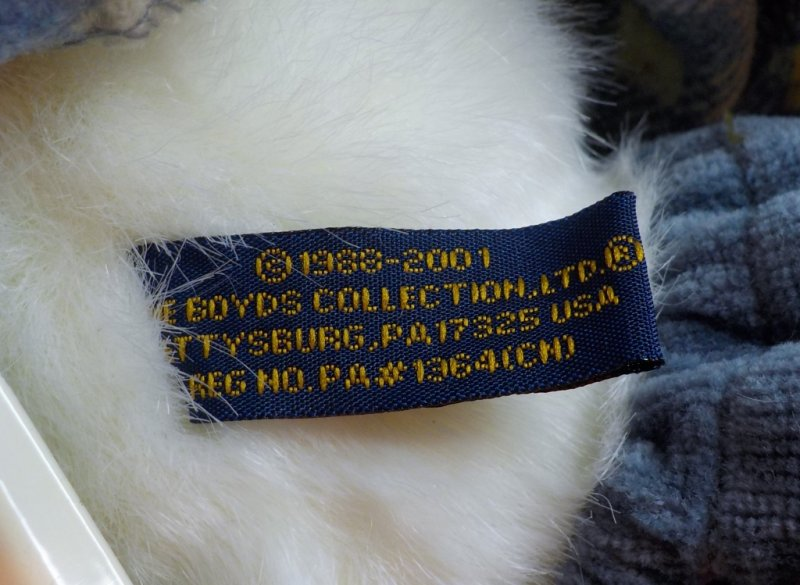 Boyd's Bear Tag with active date