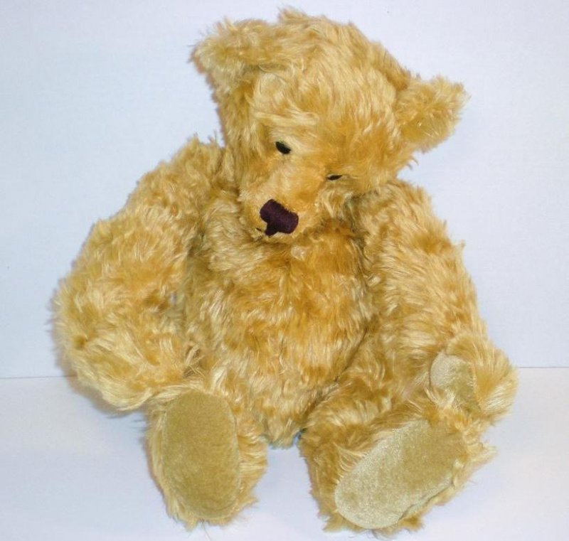 Knickerbocker Bears Old Goldie Teddy Bear 1993 limited edition of 250