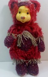 '.Garnet January Bear.'