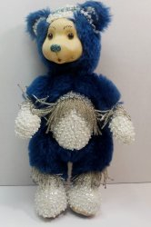 Robert Raikes Bedazzled Birthstone Bears December Topaz 2001