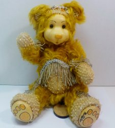 Robert Raikes Bedazzled Birthstone Bears November Citrine 2001