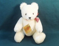 Hermann Original Teddy Bear 16 in Exclusive P&E Rubin pre 1980 growler