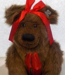 Annette Funicello Bears Kasey QVC exclusive 1993 21 inches