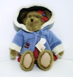 Boyds TJs Best Dressed Bear Sonya V. Burrbruin QVC 2002 Retired