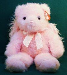 Faithful Pink Angel 13 inch Teddy Bear by TY Retired Classic 2006