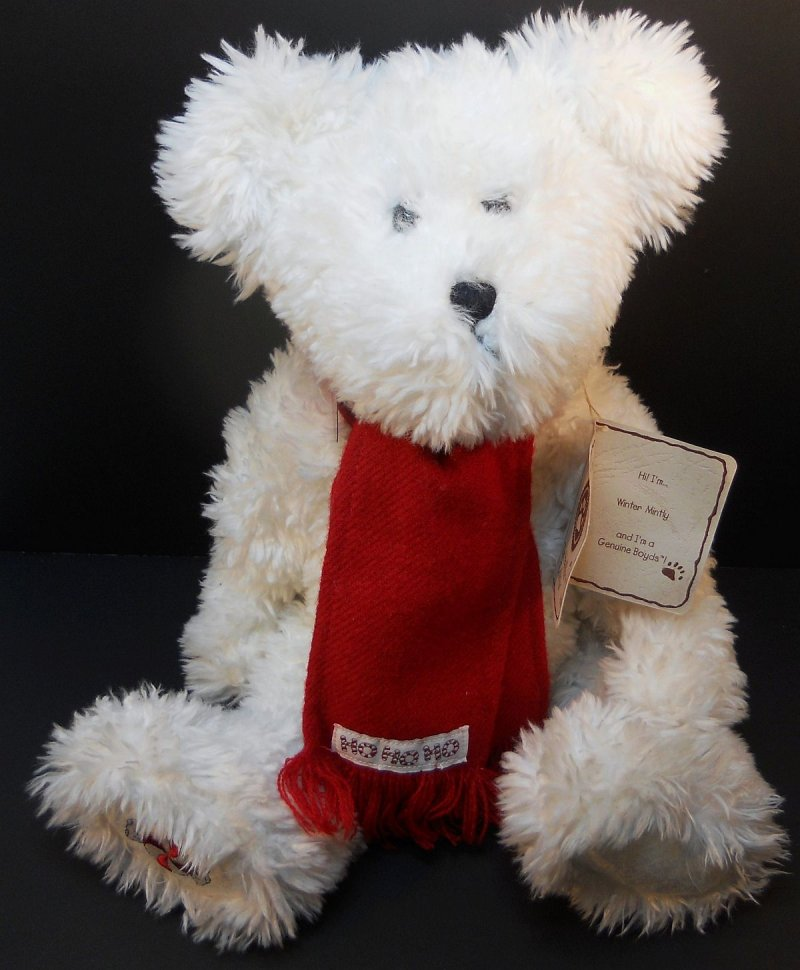Boyds Teddy Bears Candy Christmas Series