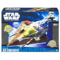 Star Wars Clone Wars Kit Fisto's Jedi Starfighter Vehicle