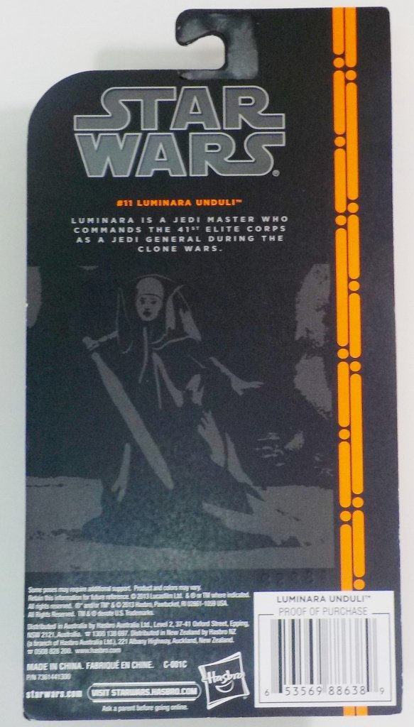 Star Wars Black Series Wave 2 orange line
