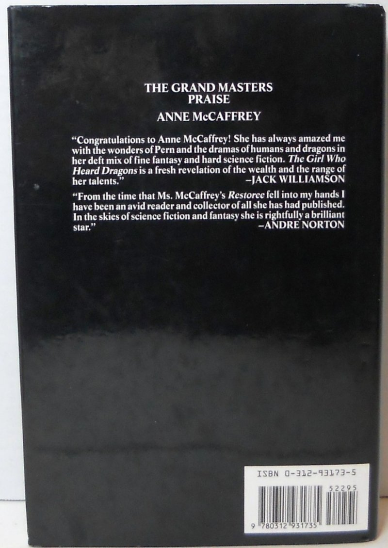 Collection of Short Stories By Anne McCaffrey