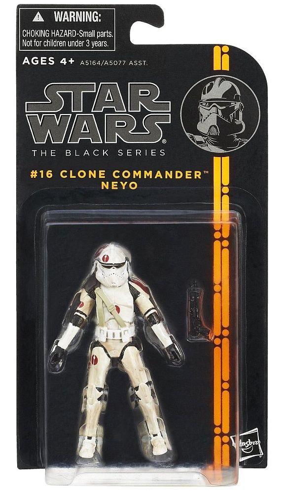 Star Wars Clone The Black Series orange series Wave 03