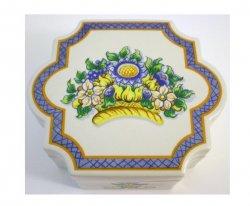 Elizabeth Arden Roma Al Fresco 1983 Porcelain Trinket Box