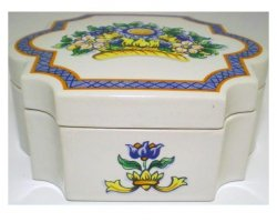 '.Roma Al Fresco Trinket Box.'