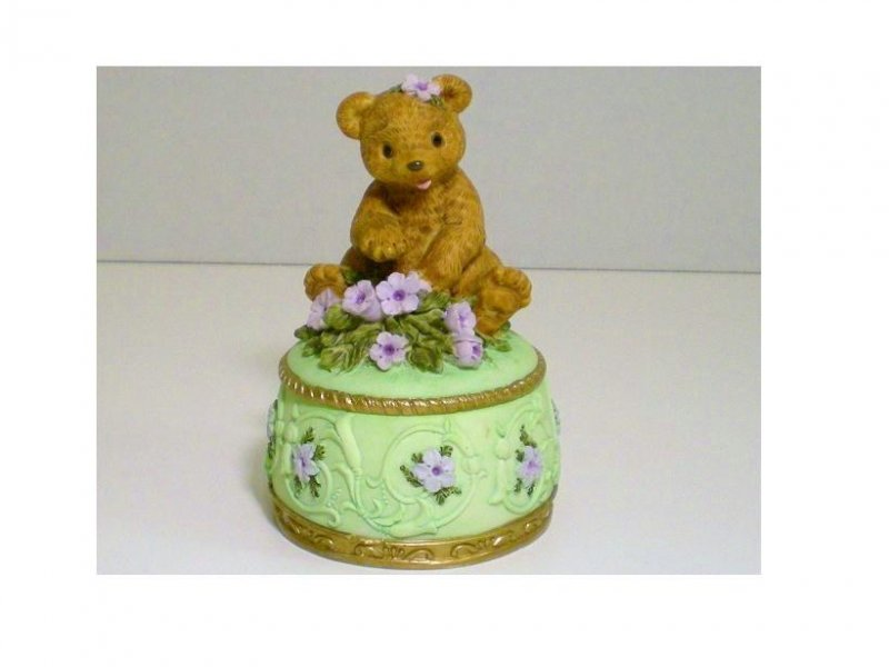 Image 1 of Heritage House Melodies County Fair Collection Trinket Box