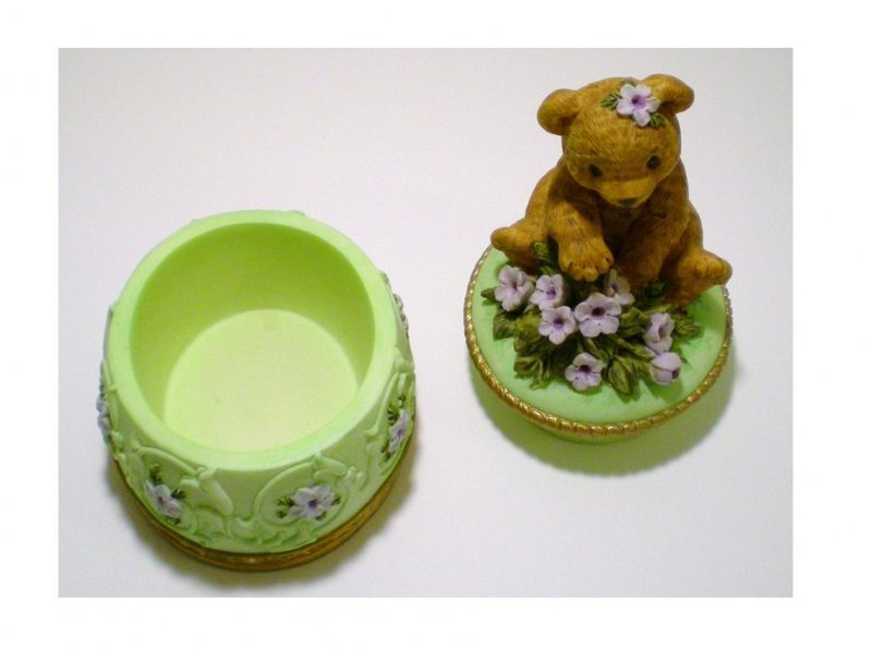 Image 2 of Heritage House Melodies County Fair Collection Trinket Box