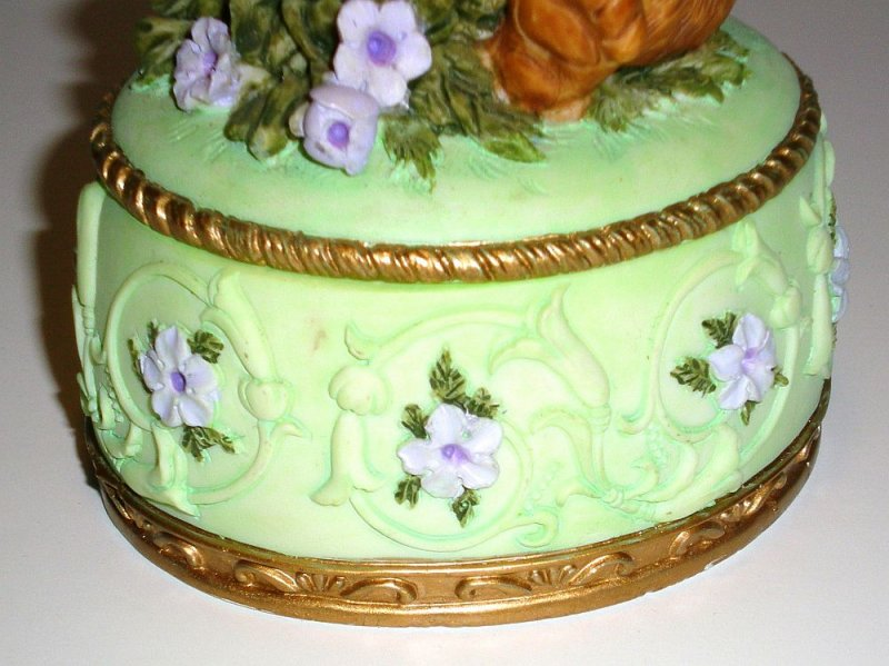 Image 6 of Heritage House Melodies County Fair Collection Trinket Box