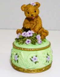 Heritage House Melodies County Fair Collection Trinket Box