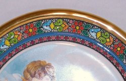 '.Cearco Ceramic Decor Plate.'