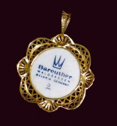 '.The Bareuther Pendant Bavaria.'