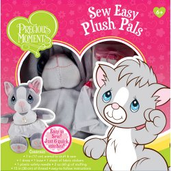 Precious Moments Sew Easy Plush Pals Cat