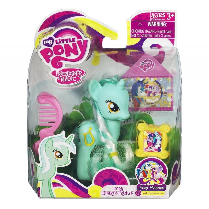 My Little Pony Wedding: My Little Pony Lyra Heartstrings Green Unicorn Wedding Series