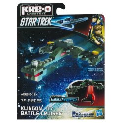 KRE-O Star Trek Klingon D7 Battle Cruiser Construction Set