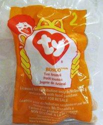 McDonalds TY Teenie Beanie Bongo the Monkey 2 1998