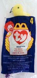 McDonalds TY Teenie Beanie Inch the Worm 4 1998