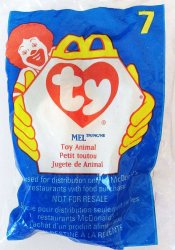 McDonalds TY Teenie Beanie Mel the Koala 7 1998