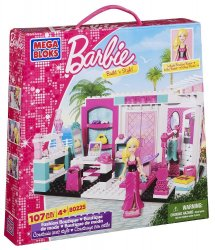 Mega Bloks Barbie Fashion Boutique Build 'n Style 80225