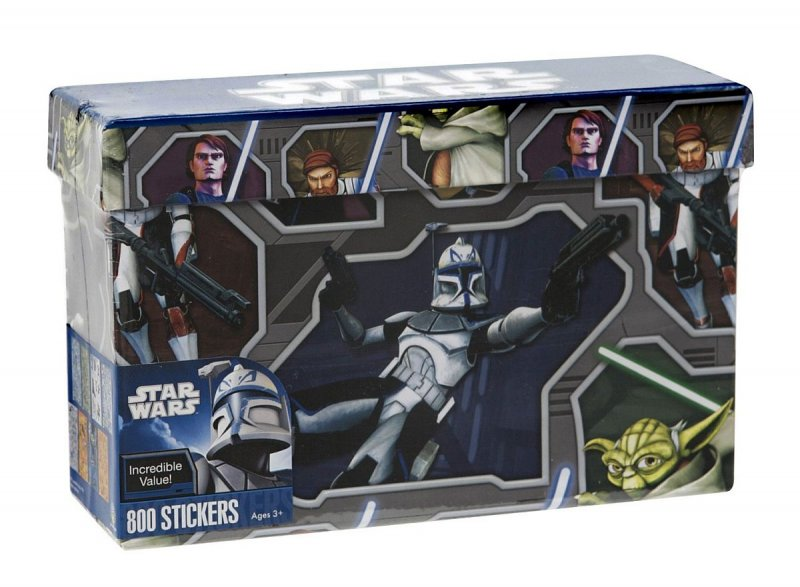 Clone Wars Stickers in Box by Paper Magic