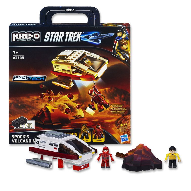 A3139 KRE-O Star Trek Spocks Volcano Mission Construction Set Sonstige
