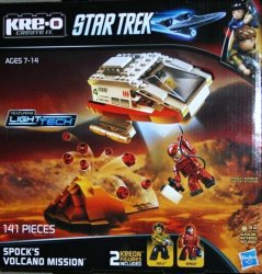 KRE-O Star Trek Spock's Volcano Mission Construction Set