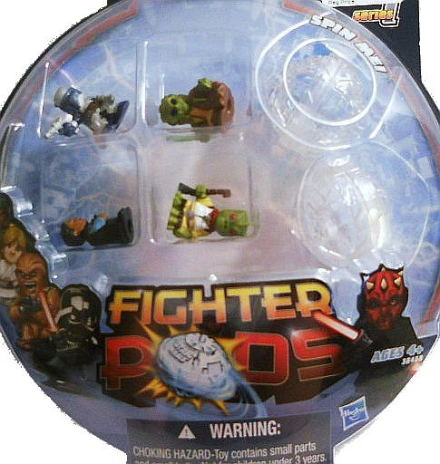 Fighter Pods 4 pack Series 1 Lot of 6